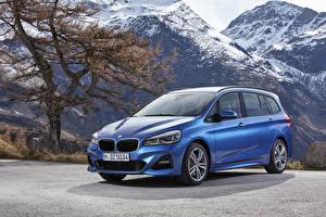 Wallpapers BMW Light Blue 2018 2 Series Gran Tourer M Sport Worldwide auto