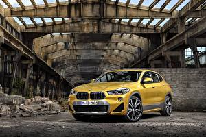 Fotos BMW Gelb Metallisch 2018 X2 xDrive20d M Sport X Worldwide Autos