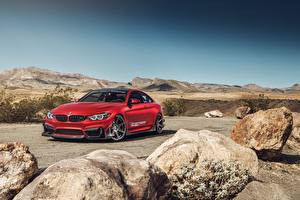 Images BMW Red M4 auto