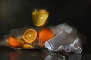 Wallpaper Drinks Orange fruit Knife Stemware Food