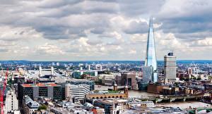 Bilder England Gebäude Brücken London Megalopolis