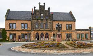 Fotos Deutschland Haus Denkmal Quedlinburg Städte