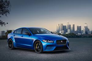Fotos Jaguar Blau 2017 XE SV Project 8 Autos