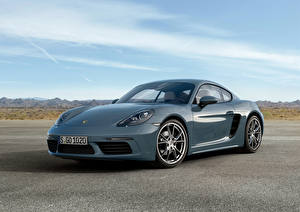 Wallpapers Porsche Metallic 2016 718 Cayman auto