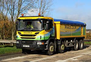 Picture Scania Trucks P410 8W Rgd Tipper SN67SXO auto