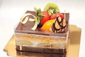 Fotos Süßware Torte Obst Gelee
