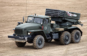 Photo Trucks Missile system 2014-18 Ural-4320-31 Cars Army