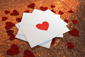 Hintergrundbilder Valentinstag Herz Brief