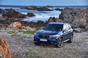 Picture BMW Blue Metallic 2017-18 X3 M40i automobile