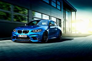 Pictures BMW Light Blue Coupe F87 Cars