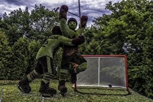 Обои Канада Парки Хоккей Мужчины Дизайна Два Ottawa Ontario Природа