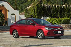Bilder Chevrolet Rot 2017 Cavalier Premier Autos