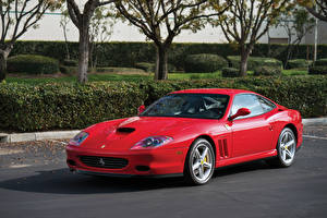 Pictures Ferrari Pininfarina Red Metallic 2002-06 575 M Maranello F1 Cars