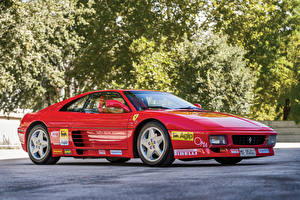 Wallpapers Ferrari Tuning Pininfarina Red Metallic 1993 348 Challenge Pininfarina automobile