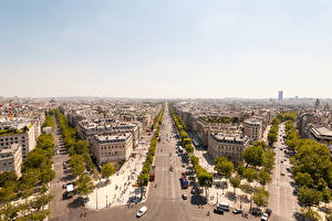 Fotos Frankreich Haus Straße Paris Megalopolis Straße
