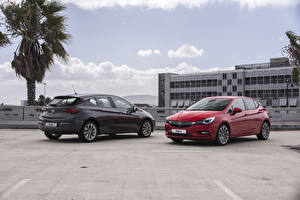 Fotos Opel Zwei Metallisch 2015 Astra (K) auto