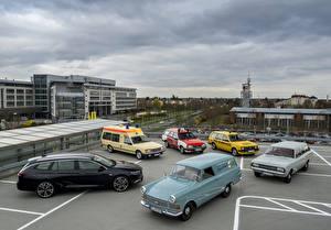 Bakgrundsbilder på skrivbordet Opel Många Retro Bilar