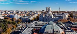 Bilder Spanien Madrid Haus Straße Dach
