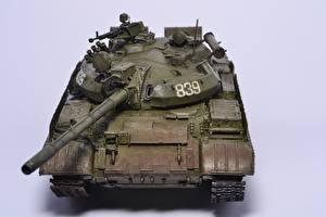 Hintergrundbilder Panzer Spielzeuge Russisches T-55