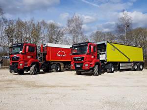 Hintergrundbilder Lastkraftwagen MAN SE 2