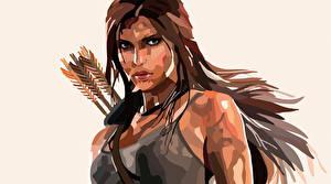 Hintergrundbilder Vektorgrafik Rise of the Tomb Raider Lara Croft Spiele Mädchens