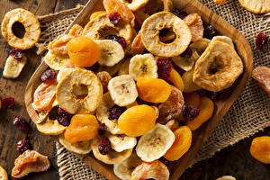Wallpapers Apricot Closeup Dried apricot Dried fruit Food