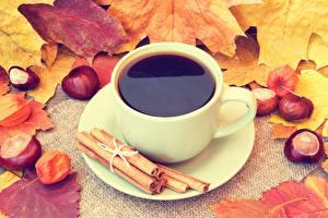 Hintergrundbilder Kaffee Zimt Kastanien Untertasse das Essen