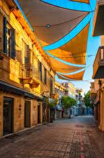 Desktop wallpapers Cyprus Building Street Nicosia Cities