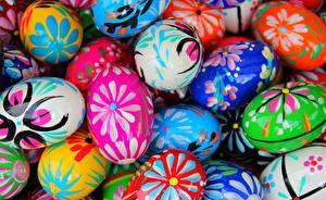 Bilder Ostern Großansicht Eier Lebensmittel