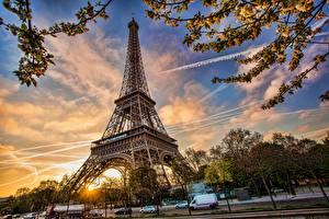 Hintergrundbilder Frankreich Paris Eiffelturm