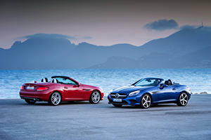 Fotos Mercedes-Benz 2 Cabrio Metallisch SLC-Klasse auto