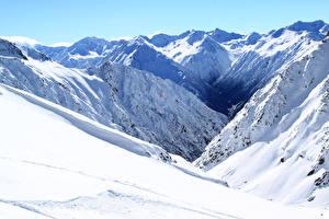 Bilder Neuseeland Berg Winter Schnee Methven Heli-Skiing Natur