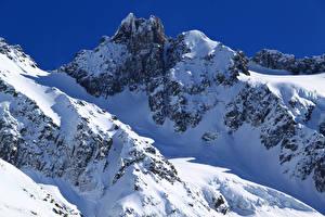 Fotos Neuseeland Berg Winter Schnee Methven Heli-Skiing Natur