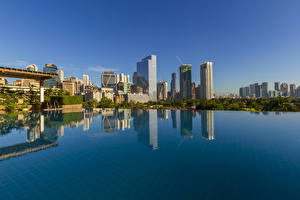 Wallpaper Philippines Building Pools Makati City Cities