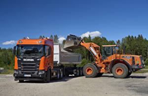 Images Scania Trucks Loader  automobile
