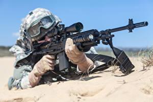 Hintergrundbilder Soldaten Sturmgewehr Heer
