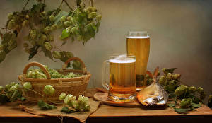 Images Still-life Beer Fish - Food Humulus Mug Wicker basket Highball glass