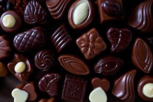 Fotos Süßware Bonbon Schokolade Hautnah das Essen