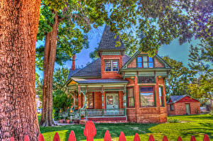Wallpaper USA Houses HDRI Mansion Design Kanab Utah Cities