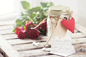 Wallpapers Valentine's Day English Jar Heart