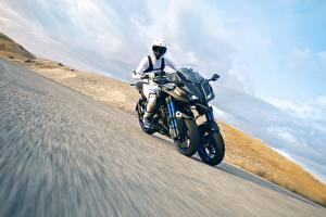 Fotos Yamaha Motorradfahrer Bewegung 2018 Niken