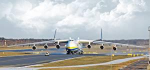 Bilder Flugzeuge Transportflugzeuge Russische An-225 Mriya