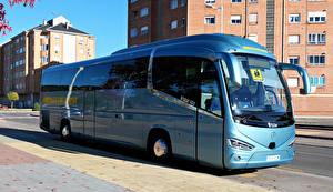 Bilder Omnibus Hellblau IRIZAR i6S MB