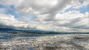 Hintergrundbilder Kanada Winter Himmel Vancouver Bucht Wolke Natur