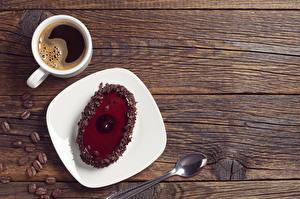 Bilder Kaffee Törtchen Bretter Tasse Teller Löffel Getreide Lebensmittel