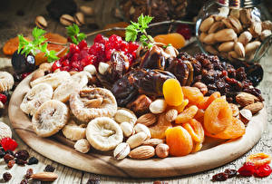Wallpaper Figs Apricot Nuts Raisin Dried apricot Dried fruit Food