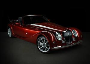 Fotos Mitsuoka Bordeauxrot Metallisch Roadster 2015-17 Autos