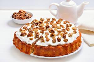 Fotos Backware Obstkuchen Nussfrüchte