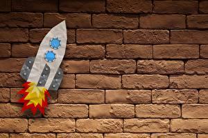 Bilder Rakete Mauer Ziegel
