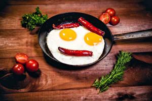 Fonds d'écran Smilies Poivron Tomate Œuf au plat Poêle (cuisine) Nourriture